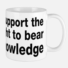 The Right To Bear Knowledge Mug