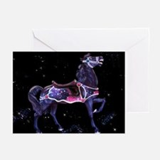Star Carousel Horse Greeting Cards (Pk of 10)