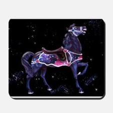 Star Carousel Horse Mousepad