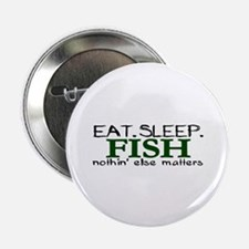 "Eat Sleep Fish 2.25"" Button (100 pack)"