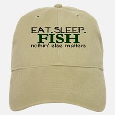 Eat Sleep Fish Baseball Baseball Cap