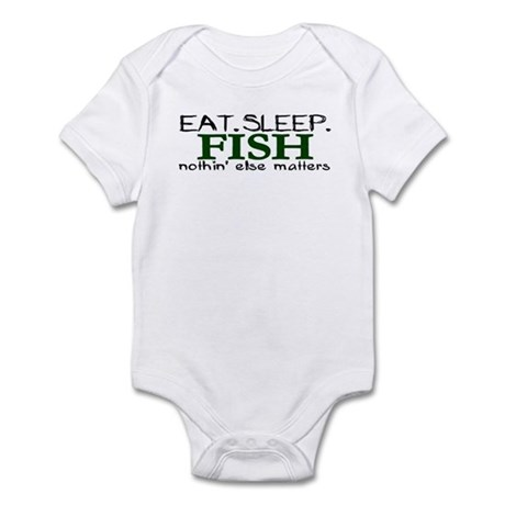 Eat Sleep Fish Infant Bodysuit