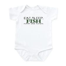 Eat Sleep Fish Onesie