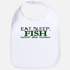 Eat Sleep Fish Bib