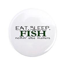 "Eat Sleep Fish 3.5"" Button (100 pack)"