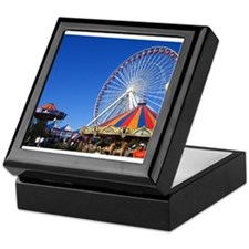 Navy Pier, Chicago Keepsake Box