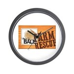 Farm Rescue Wall Clock