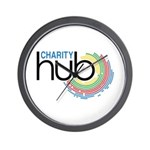 Charity Hub Wall Clock