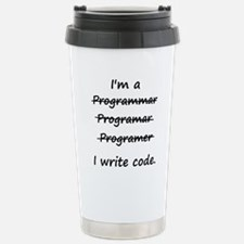 Funny Software developer computer geek Travel Mug
