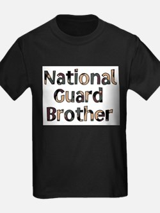 National Guard Brother Camo T-Shirt