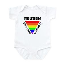 Reuben Gay Pride (#006) Infant Bodysuit