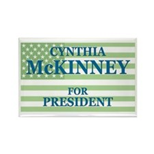 Cynthia McKinney Rectangle Magnet