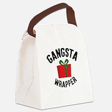Gangsta Wrapper Canvas Lunch Bag