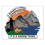 I Bought A Sheep Mountain Small Poster