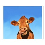 Selfie Cow Small Poster