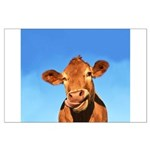Selfie Cow Large Poster