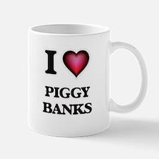 I love Piggy Banks Mugs