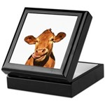 Selfie Cow (Transparent) Keepsake Box