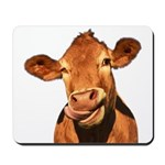 Selfie Cow (Transparent) Mousepad