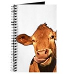 Selfie Cow (Transparent) Journal