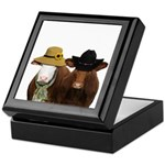 Country Couple Keepsake Box