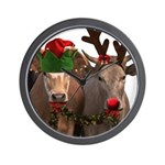 Santa & Friends Wall Clock