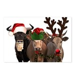 Santa & Friends Postcards (Package of 8)