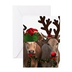 Santa & Friends Greeting Card