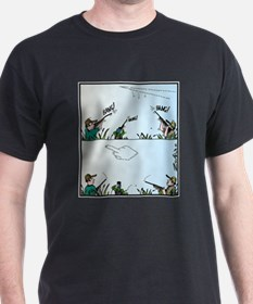 Birds giving the Finger T-Shirt