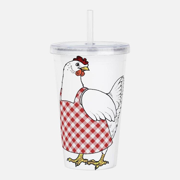Winner Winner Chicken Acrylic Double-wall Tumbler