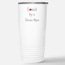 Cute Lhasa apso Thermos Mug