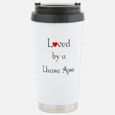 Cute Lhasa apso Travel Mug