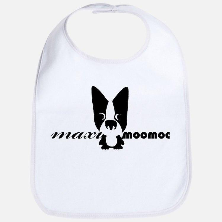 Maximoomoo logo.jpg Baby Bib