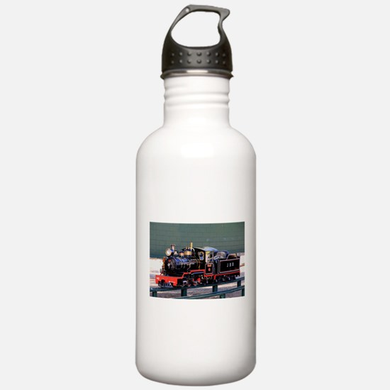 Miniature steam train Water Bottle