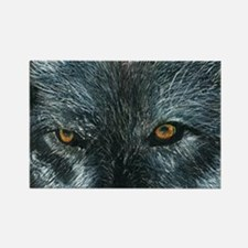 Wolf Soul Rectangle Magnet