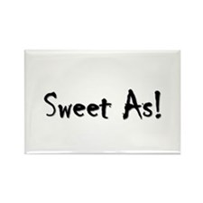 Sweet As 3 Rectangle Magnet