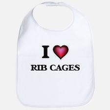 I love Rib Cages Baby Bib