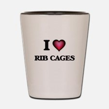 I love Rib Cages Shot Glass