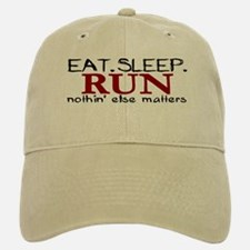 Eat Sleep Run Baseball Baseball Cap