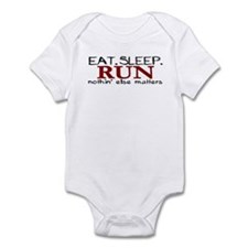 Eat Sleep Run Infant Bodysuit