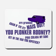 YOU PLONKER Mousepad