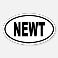 NEWT Oval Decal