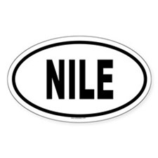 NILE Oval Decal
