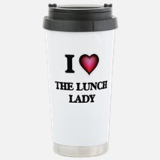 I love The Lunch Lady Stainless Steel Travel Mug