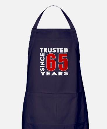 Trusted Since 65 Years Apron (dark)