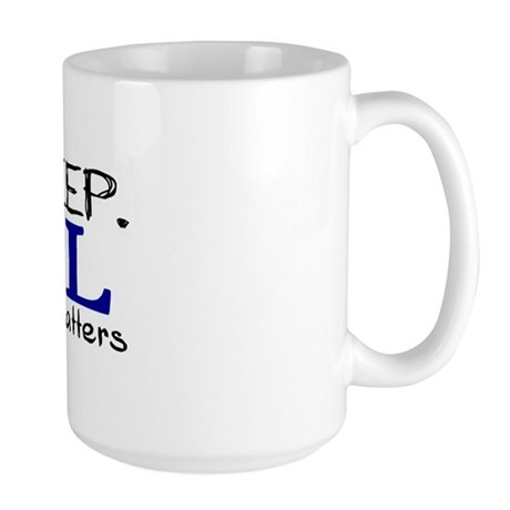 Eat Sleep Sail Large Mug