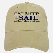 Eat Sleep Sail Baseball Baseball Cap