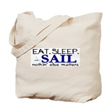 Eat Sleep Sail Tote Bag