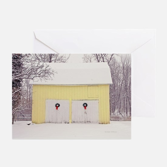 Christmas Barn Greeting Cards (Pk of 10)