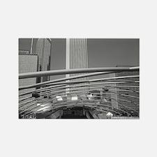 Jay Pritzker Pavilion, Chicag Rectangle Magnet